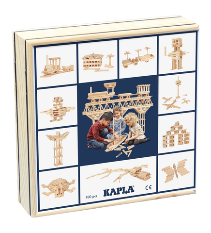 Kapla  Case Wooden 100pc Planks