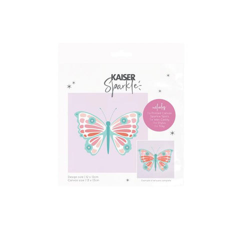 Sparkle Kids Kits Butterfly with Wooden Frame