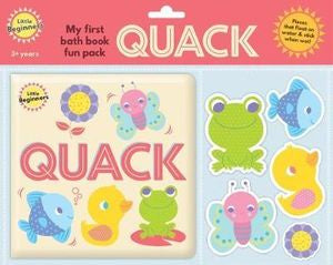 My First Bath Book Fun Pack Quack