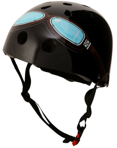 Helmet Medium - Black Goggles
