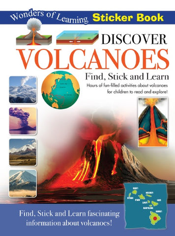 Discover Volcanoes, Wonders of Learning Sticker Book