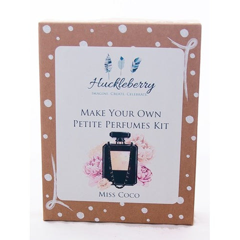 Huckleberry Make Your Own Perfume Kit Miss Coco