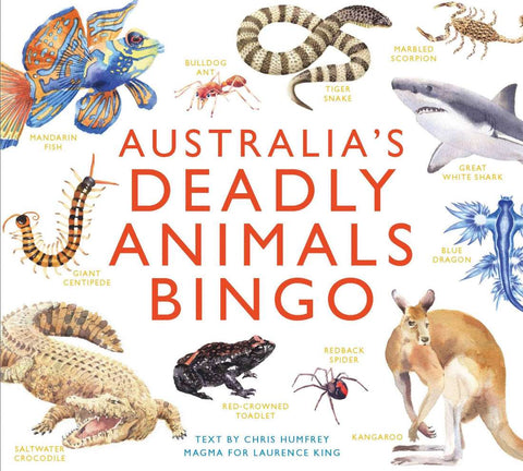 Australia's Deadly Animals Bingo