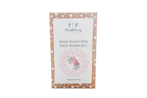 Huckleberry Make Your Own Bath Bomb Kit Unicorn Fizz