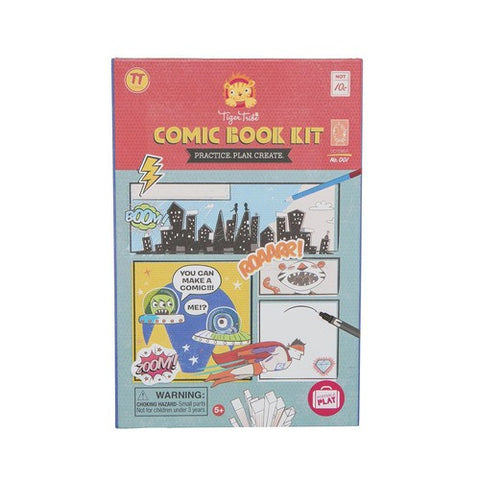 Tiger Tribe Comic Book Making Kit