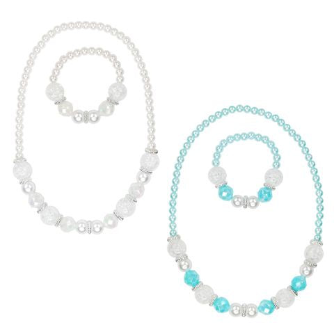 Necklace & Bracelet Set Snow Princess