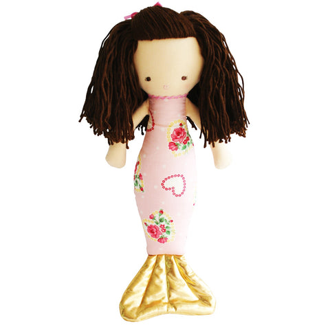 Alimrose Mermaid Doll Hearts 50cm