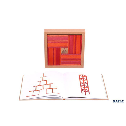 Kapla Book and Colours Red/Orange