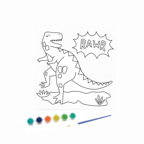 Canvas Art Dinosaur