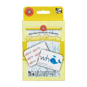 Flash Cards Blending Consonants & Digraphs