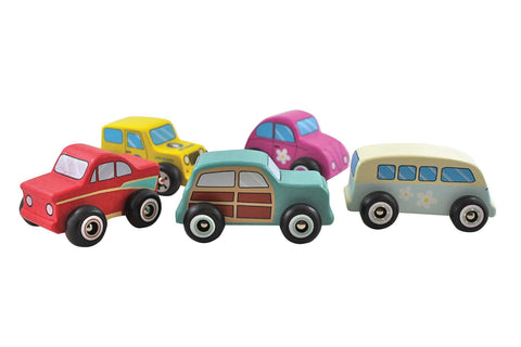 Discoveroo Beach Cars 5 Pcs