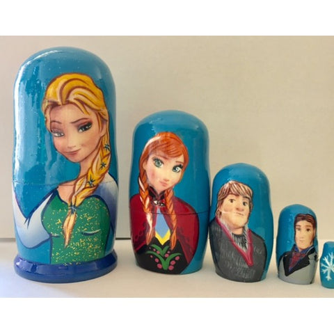 Babushka Frozen 5 Pcs Small