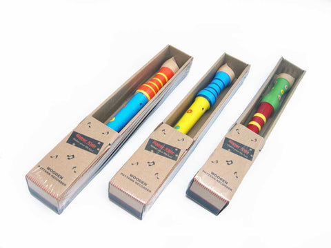 Wooden Pattern Recorder