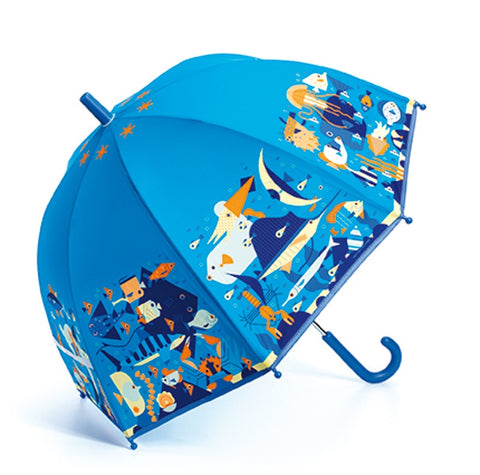 Umbrella Blue Seaworld