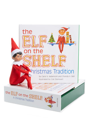 Elf on the Shelf Tan Boy