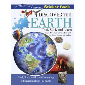 Discover the Earth, Wonders of Learning Sticker Book