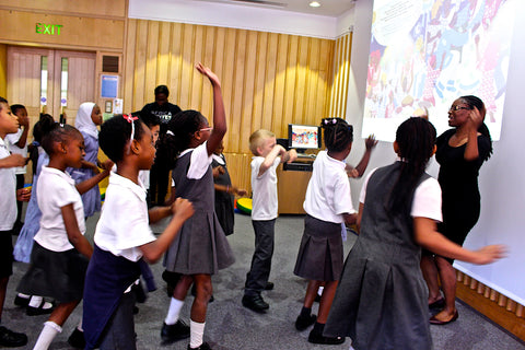 The Wedding Week workshop with Year 2 at Africa Writes literary festival, British Library