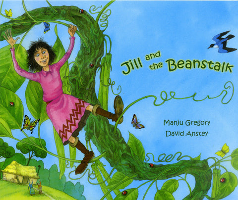 Jill and the Beanstalk (Arabic and English)