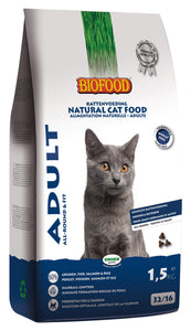 Biofood Adult Fit - 4 x 1,5kg - Oscar and Kitty