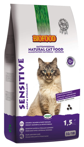 Biofood Sensitive - 4 x 1,5kg - Oscar and Kitty