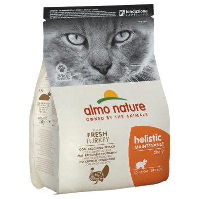 Almo Nature Holistic Dinde et Riz - 3 x 2kg - Oscar and Kitty