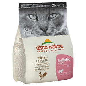 Almo Nature Holistic Kitten Poulet et Riz - 3 x 2kg - Oscar and Kitty