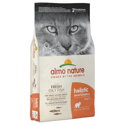 Almo Nature Holistic Poisson gras et Riz - 12kg - Oscar and Kitty
