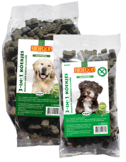 Biofood - Biscuits pour chiens 3 en 1 (12 x 500 gr) - Oscar and Kitty