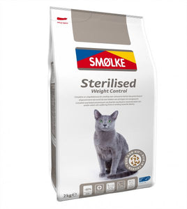 Smølke Sterilized Weight Control - 4 x 2kg - Oscar and Kitty