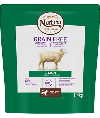 Nutro - Croquettes Grain Free pour Chiens Adultes à l'Agneau (14,5 kg) - Oscar and Kitty