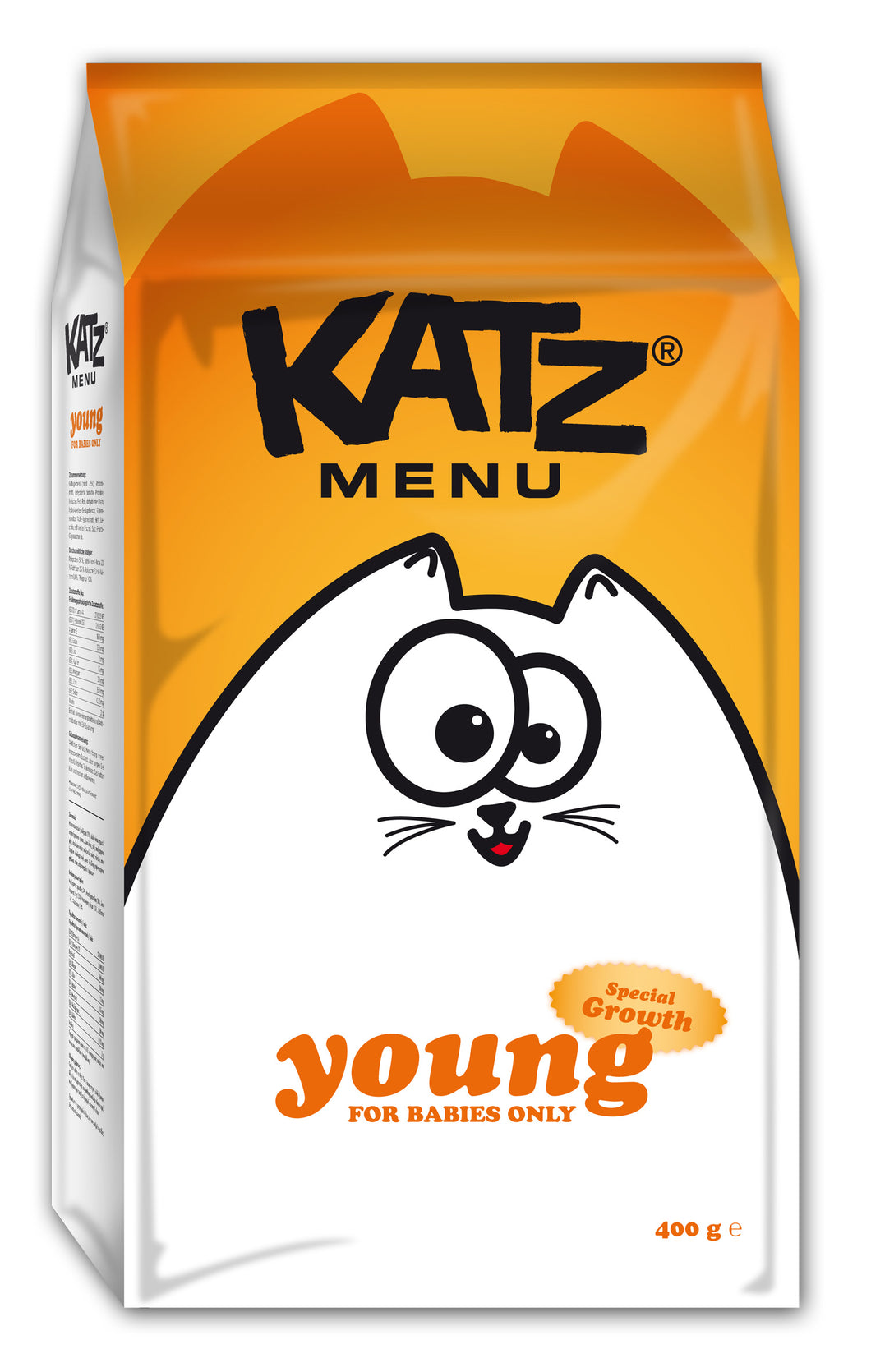 Katz Menu young - 8 x 400g - Oscar and Kitty