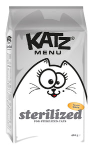 Katz Menu sterilized - 8 x 400g - Oscar and Kitty