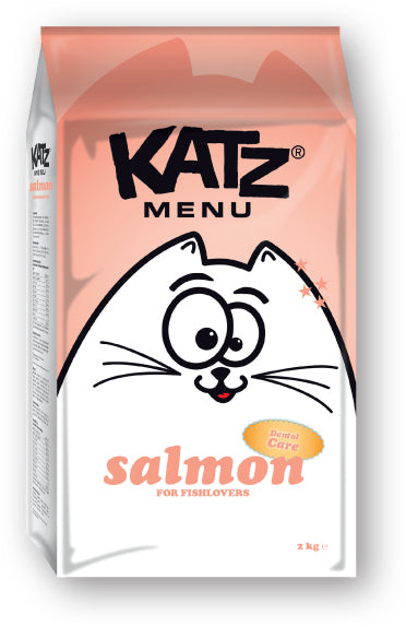 Katz Menu salmon - 8 x 400g - Oscar and Kitty