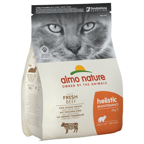 Almo Nature Holistic Boeuf et Riz - 3 x 2kg - Oscar and Kitty