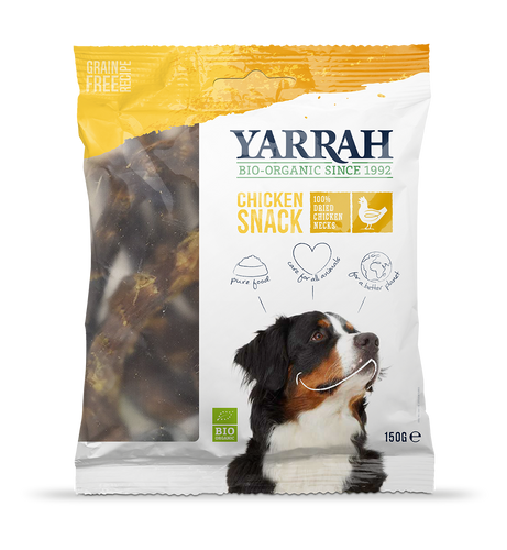 Yarrah - Snacks de poulets pour chien (10 x 150 gr) - Oscar and Kitty