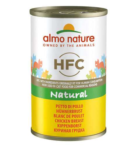 Almo Nature HFC Natural - Blanc de Poulet - 24 x 140g - Oscar and Kitty