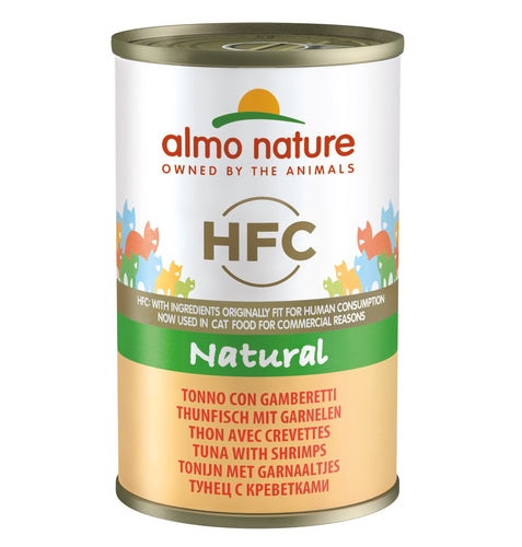Almo Nature HFC Natural - Thon Crevettes - 24 x 140g - Oscar and Kitty