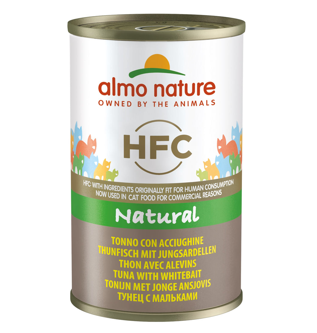 Almo Nature HFC Natural - Thon avec sardines - 24 x 140g - Oscar and Kitty