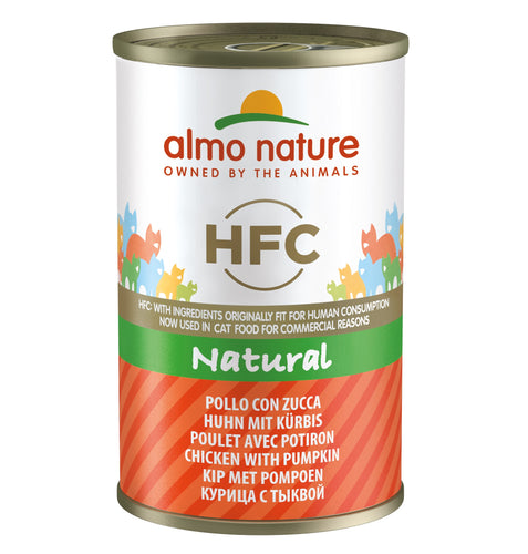 Almo Nature HFC Natural - Poulet et Potiron - 24 x 140g - Oscar and Kitty