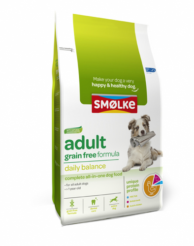Smølke - Adult Grain Free Formula (2 x 3 kg) - Oscar and Kitty