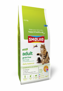 Smølke Adult Grain Free - 2 x 4kg - Oscar and Kitty