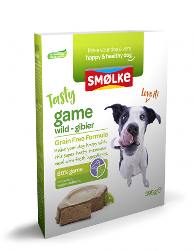 Smølke Game (20 x 395 gr) - Oscar and Kitty