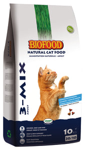 Biofood Chat 3-Mix Croquettes - 10kg - Oscar and Kitty