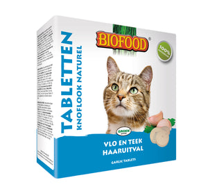 Biofood  - Anti Puces et Tiques à l'Ail Naturel - 16 boites - Oscar and Kitty