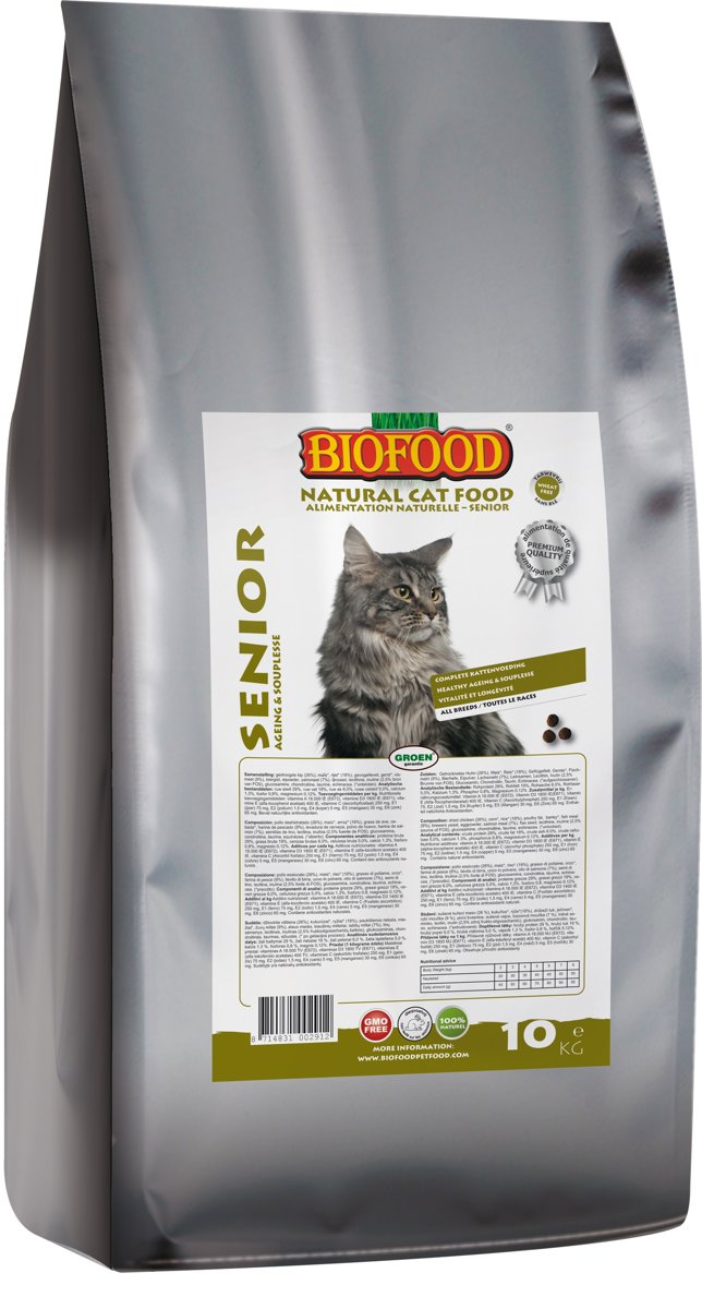Biofood Senior - 10kg - Oscar and Kitty