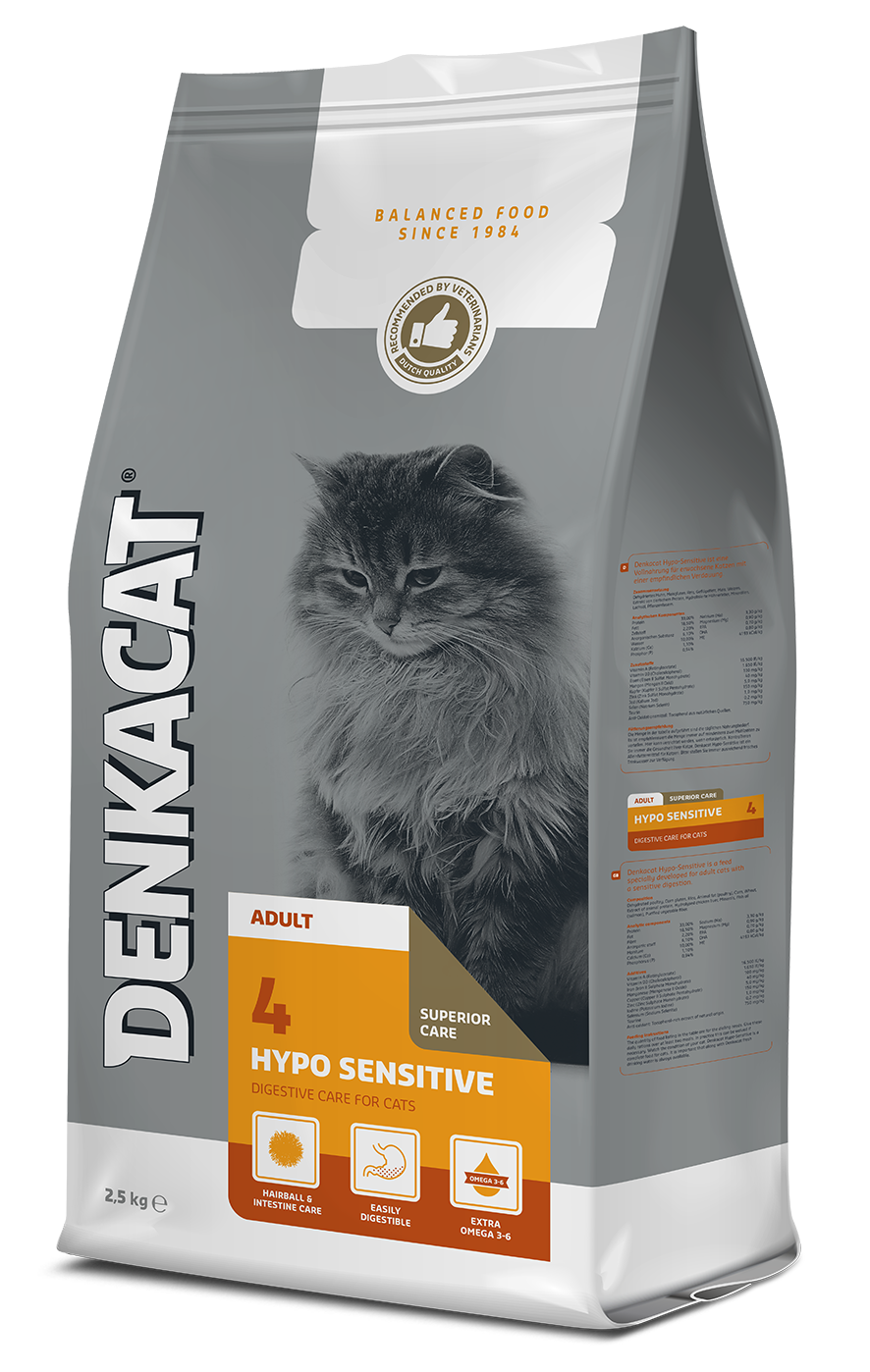 Denkacat Hypo Sensitive - 4 x 2,5 kg - Oscar and Kitty