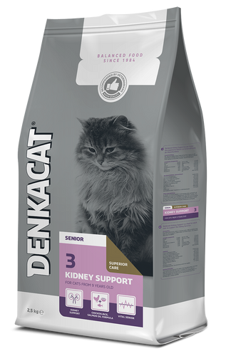 Denkacat Kidney Support - 4 x 2,5 kg - Oscar and Kitty