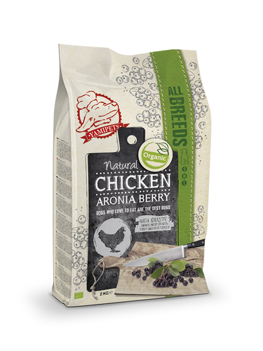 Natural Fresh Bio - Croquettes au Poulet - Baies de Sorbier 2 x 2 kg - Oscar and Kitty