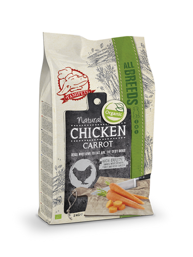 Natural Fresh Bio - Croquettes au Poulet - Carotte 12 kg - Oscar and Kitty