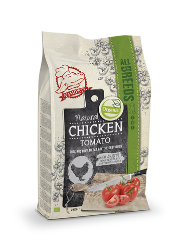 Natural Fresh Bio - Croquettes au Poulet - Tomate 2 x 2 kg - Oscar and Kitty